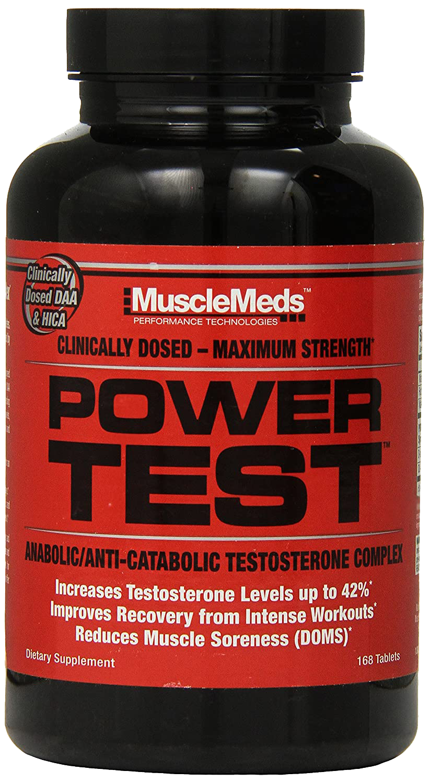 Power Test (168 caps) - MuscleMeds