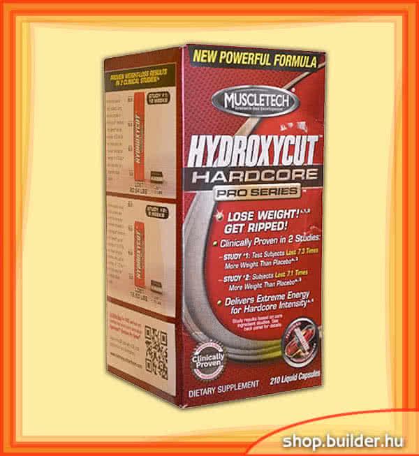 MuscleTech Hydroxycut Hardcore Pro Series 210 L.c.